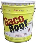 1 - Five Gallon Pail - Gaco Roof Silicone Roof Ctg - 1-White - (Caribbean Destinations excluding Puerto Rico)
